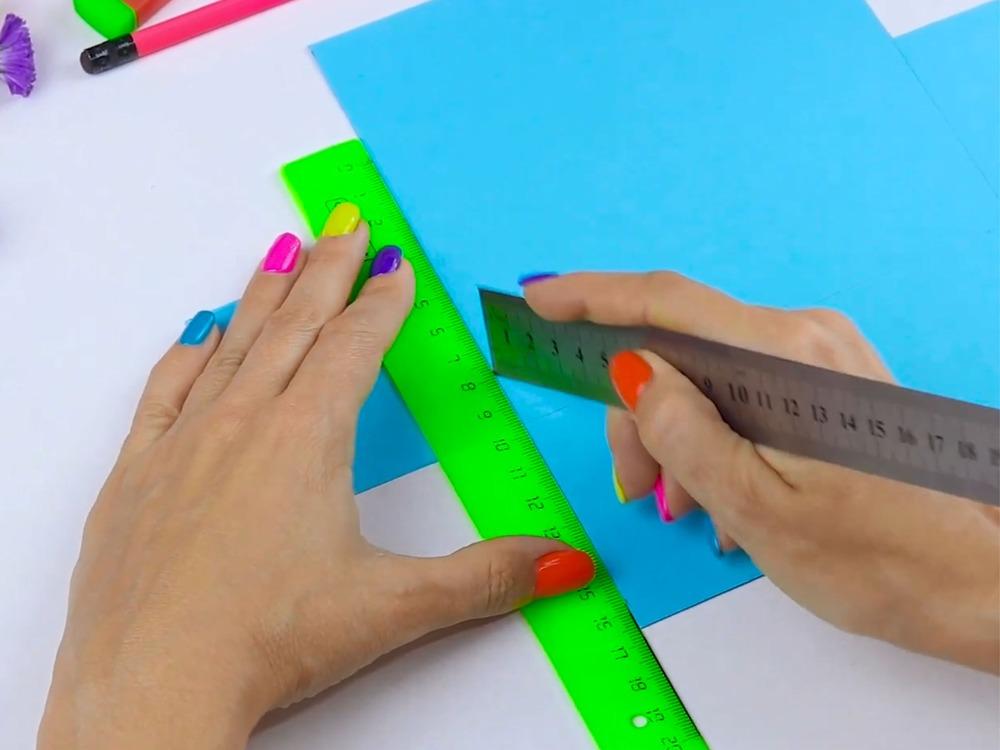 Как сделать пенал из бумаги - фото 4