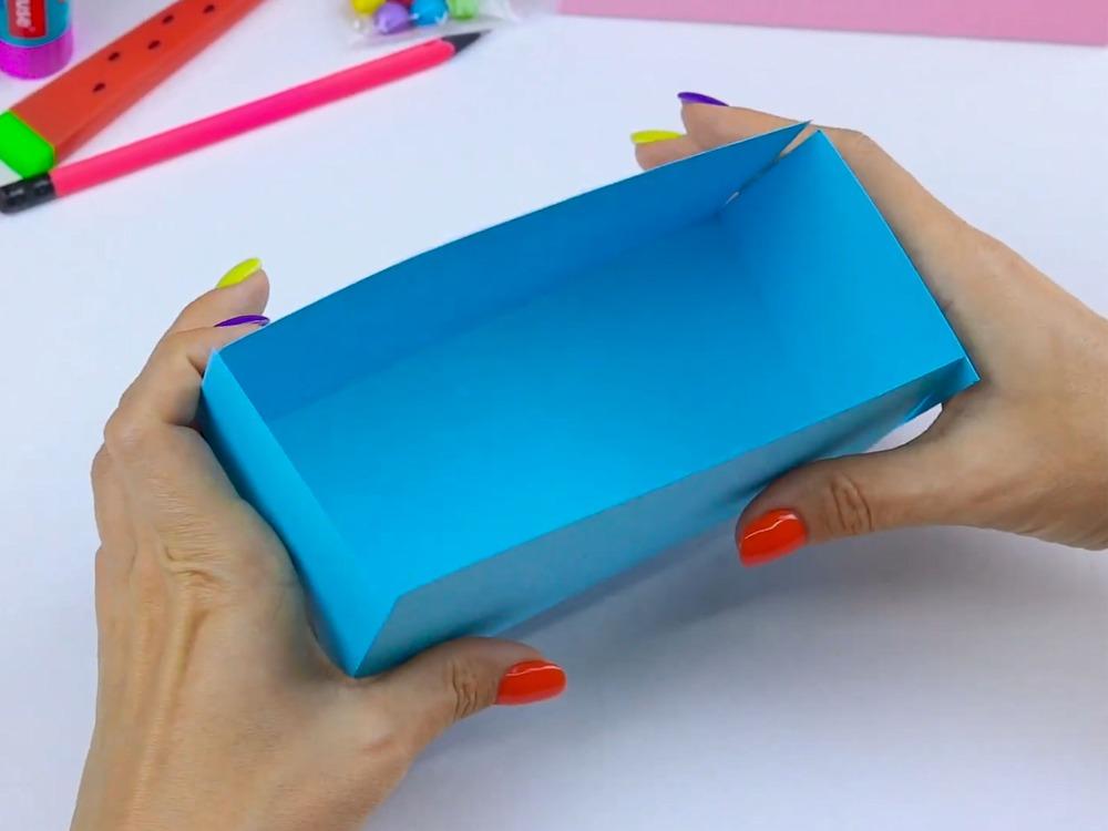 Как сделать пенал из бумаги - фото 5