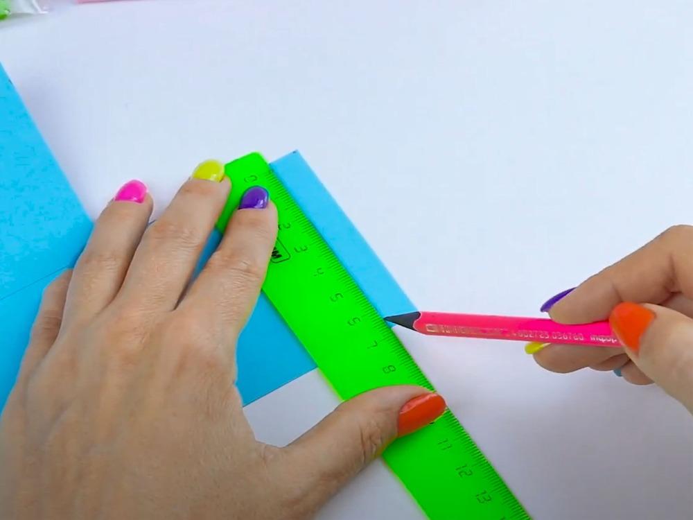 Как сделать пенал из бумаги - фото 6
