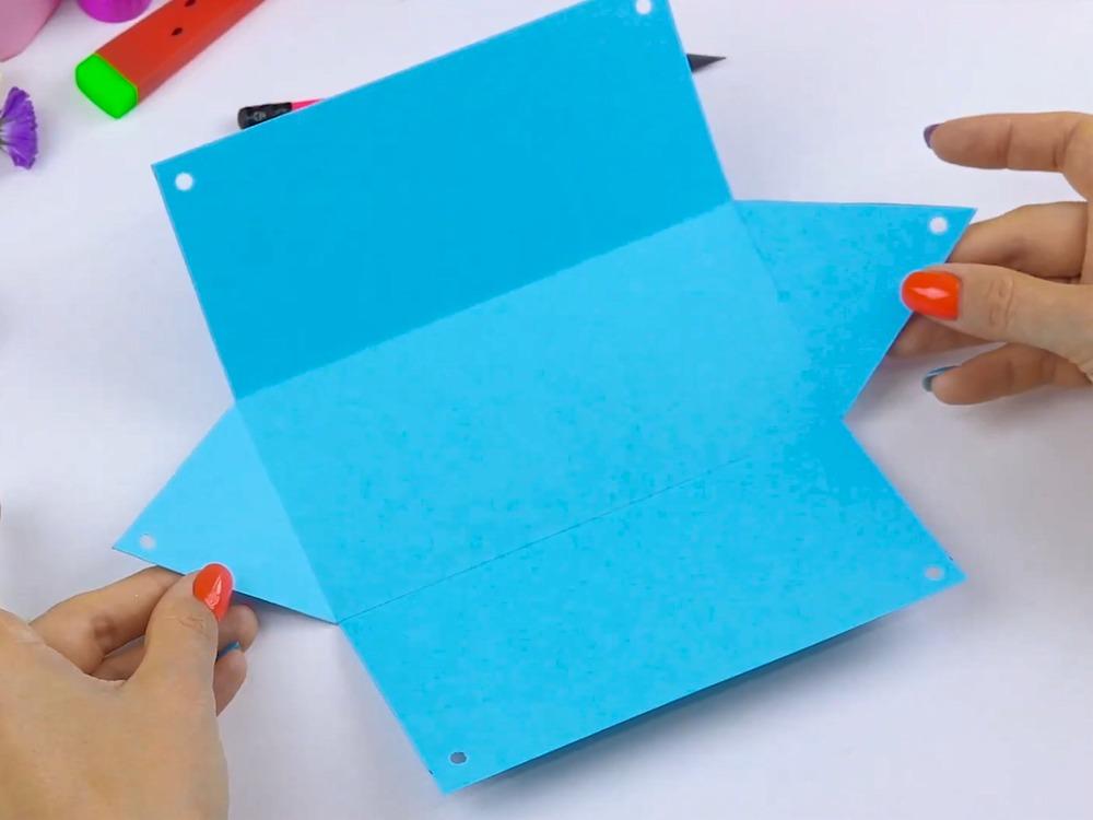 Как сделать пенал из бумаги - фото 9