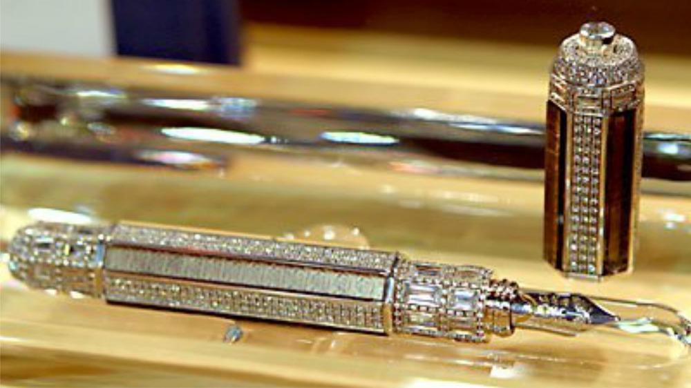 Самая дорогая шариковая ручка