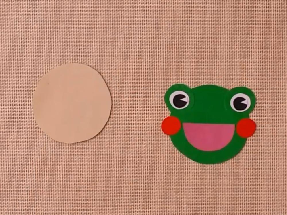 Лягушка из бумаги для кукольного театра - фото 3