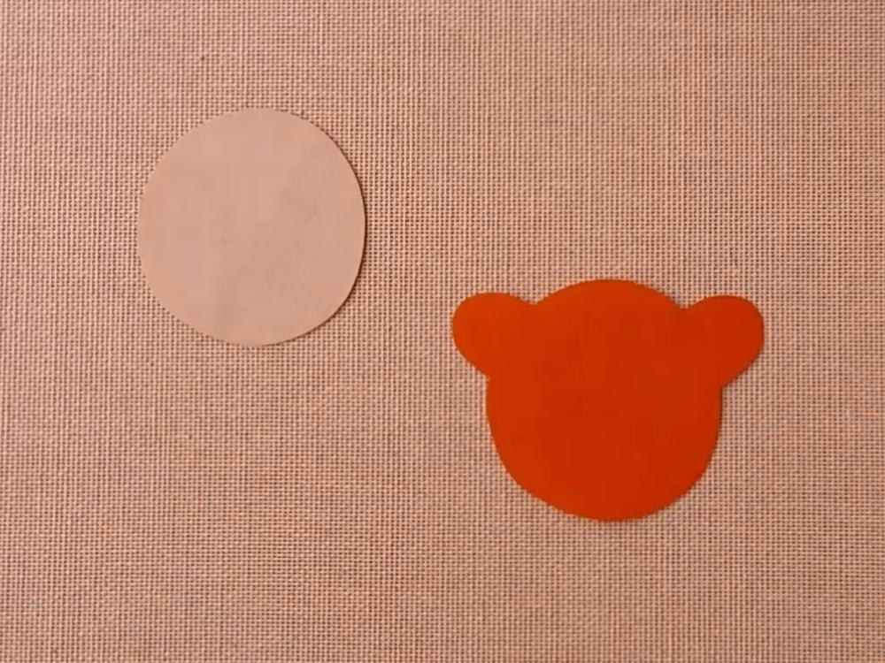 Медведь из бумаги для кукольного театра - фото 2