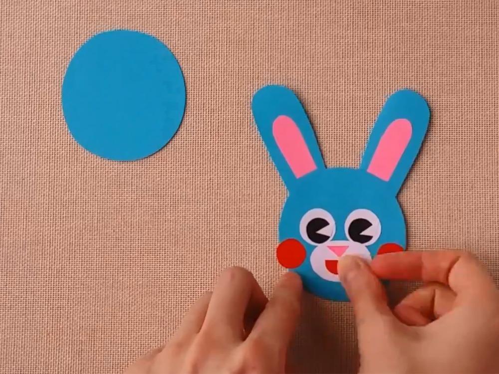 Заяц из бумаги для кукольного театра - фото 3